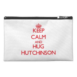 Mantenga tranquilo y abrazo Hutchinson