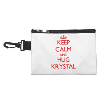 Mantenga tranquilo y abrazo Krystal