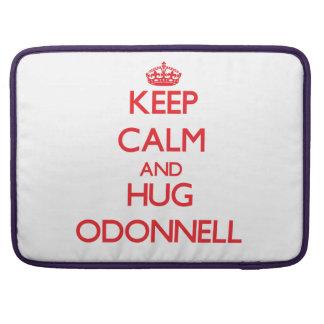 Mantenga tranquilo y abrazo Odonnell Funda Macbook Pro