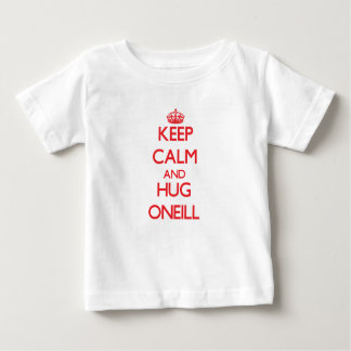 Mantenga tranquilo y abrazo Oneill T Shirts