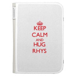 Mantenga tranquilo y ABRAZO Rhys
