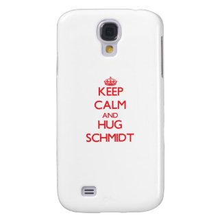 Mantenga tranquilo y abrazo Schmidt Funda Para Galaxy S4