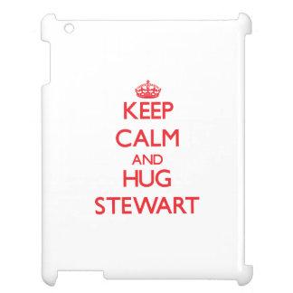 Mantenga tranquilo y abrazo Stewart
