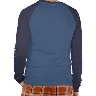 Mantenga tranquilo y aprenda de manga larga para camisetas