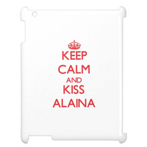 Mantenga tranquilo y beso Alaina