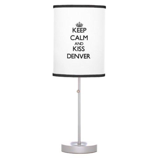 Mantenga tranquilo y beso Denver