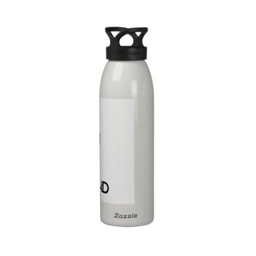 Mantenga tranquilo y beso Desmond Botella De Agua Reutilizable