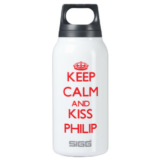 Mantenga tranquilo y beso Philip