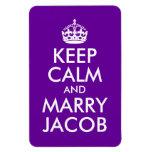 Mantenga tranquilo y case a Jacob Imanes