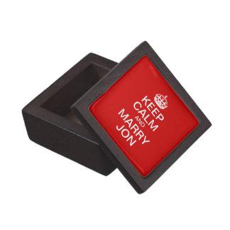 Mantenga tranquilo y case la caja de regalo superi cajas de recuerdo de calidad