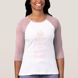Mantenga tranquilo y case la camisa de Harry