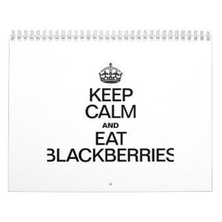 MANTENGA TRANQUILO Y COMA BLACKBERRIES.ai Calendarios