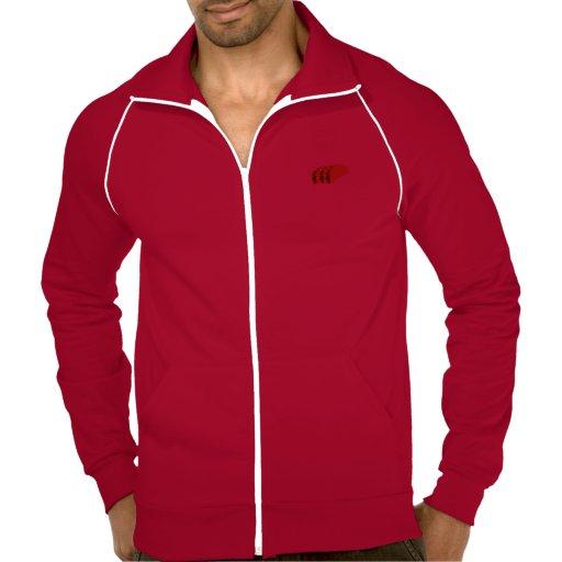 Mantenga tranquilo y coma el suéter con capucha de chaquetas imprimidas