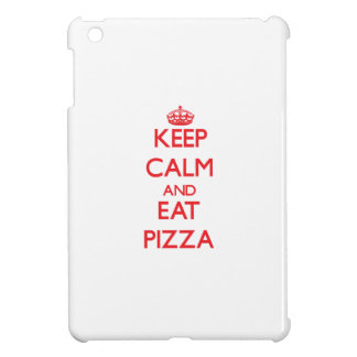 Mantenga tranquilo y coma la pizza