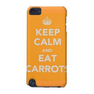 mantenga tranquilo y coma las zanahorias Louis tom