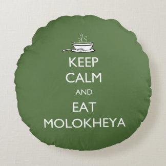 Mantenga tranquilo y coma Molokheya