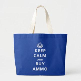 Mantenga tranquilo y compre la munición bolsas de mano
