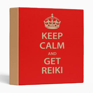 Mantenga tranquilo y consiga Reiki