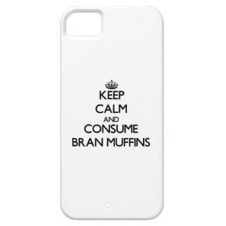 Mantenga tranquilo y consuma los molletes de iPhone 5 carcasa