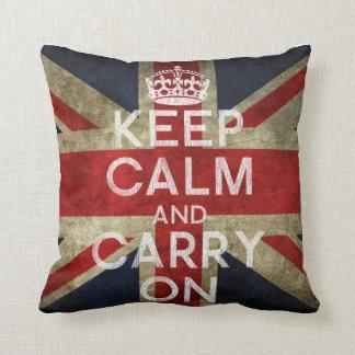 Mantenga tranquilo y continúe la almohada