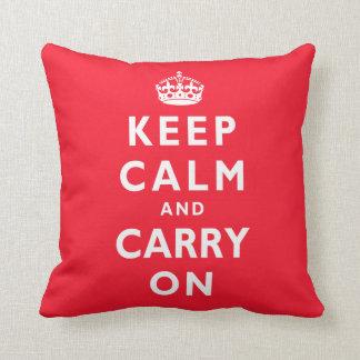Mantenga tranquilo y continúe la almohada con SU