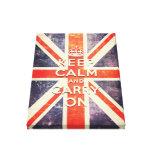 mantenga tranquilo y continúe la bandera de Union  Lienzo Envuelto Para Galerías