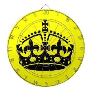 Mantenga tranquilo y continúe la corona