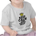 Mantenga tranquilo y corrija Tee.png Camisetas