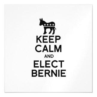 Mantenga tranquilo y elija a Bernie