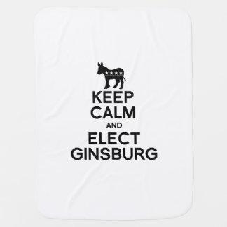 Mantenga tranquilo y elija a Ginsburg Mantitas Para Bebé
