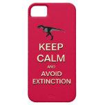 Mantenga tranquilo y evite el caso del iPhone 5 de iPhone 5 Case-Mate Cárcasa