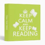 Mantenga tranquilo y guarde el leer