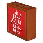 Mantenga tranquilo y guarde las abejas - todos los