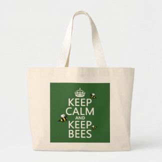 Mantenga tranquilo y guarde las abejas - todos los bolsas