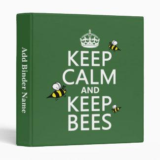 """Mantenga tranquilo y guarde las abejas - todos los carpeta 1"""""""