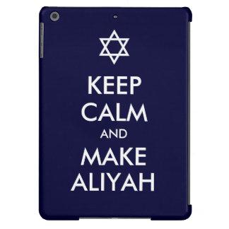 Mantenga tranquilo y haga Aliyah Funda Para iPad Air