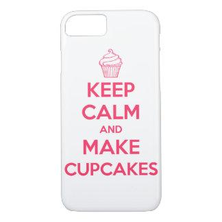 Mantenga tranquilo y haga las magdalenas funda iPhone 7