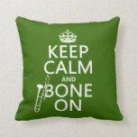 Mantenga tranquilo y 'hueso en (trombone - cualqui almohadas