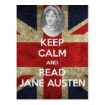 Mantenga tranquilo y lea a Jane Austen