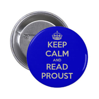 Mantenga tranquilo y lea la insignia del botón de  pin redondo de 2 pulgadas