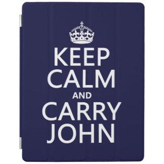 Mantenga tranquilo y lleve a Juan Cubierta De iPad