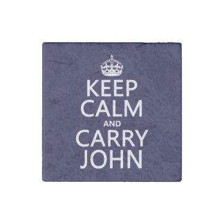 Mantenga tranquilo y lleve a Juan Imán De Piedra