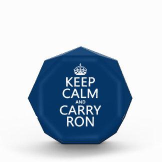 Mantenga tranquilo y lleve a Ron (modifique los co