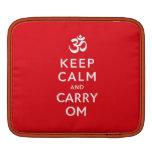 Mantenga tranquilo y lleve el iPad de OM o la mang Fundas Para iPads