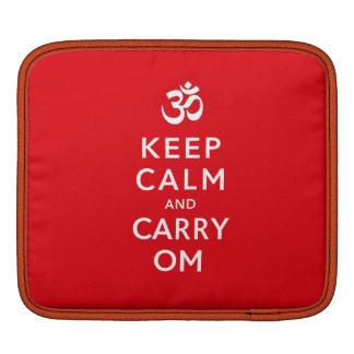 Mantenga tranquilo y lleve el iPad de OM o la mang Funda Para iPads