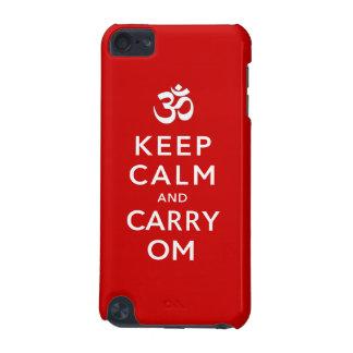 Mantenga tranquilo y lleve el tacto 5G de OM iPod