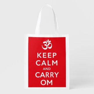 Mantenga tranquilo y lleve los artes y las compras bolsa reutilizable