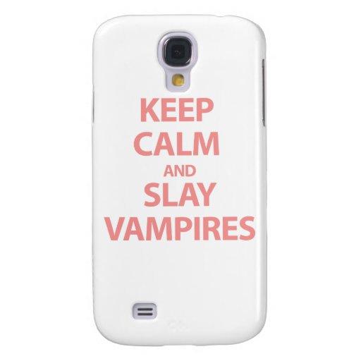 Mantenga tranquilo y mate a los vampiros
