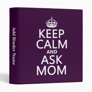 """Mantenga tranquilo y pregunte a mamá - todos los carpeta 1"""""""