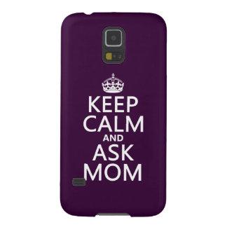 Mantenga tranquilo y pregunte a mamá - todos los fundas para galaxy s5